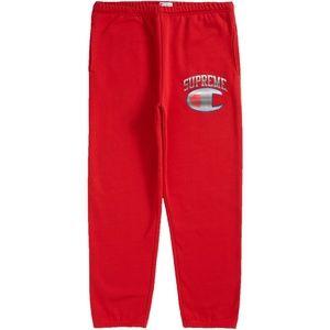 Supreme Champion Chrome Sweatpant (Red) S